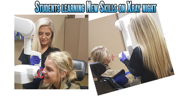 Dental Assistant X-ray
