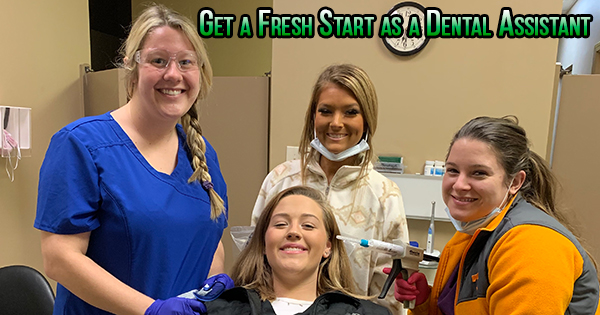 dental assistant start